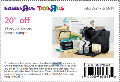 Coupon for: Toys