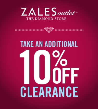 Coupon for: Zales, Clearance with an extra 10% off