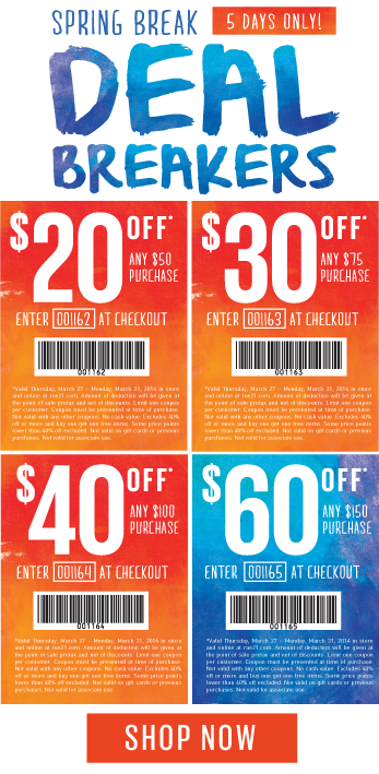 Coupon for: rue21, Deal Breakers