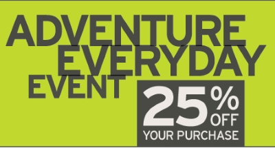 Coupon for: Eddie Bauer, Adventure everyday event