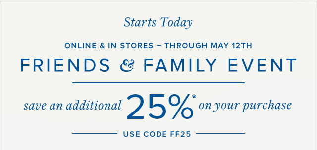 Coupon for: Brooks Brothers, an extra 25% off your purchase