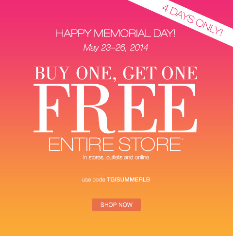 Coupon for: Lane Bryant, Happy Memorial Day