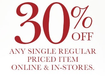 Coupon for: dressbarn, 30% off any ...