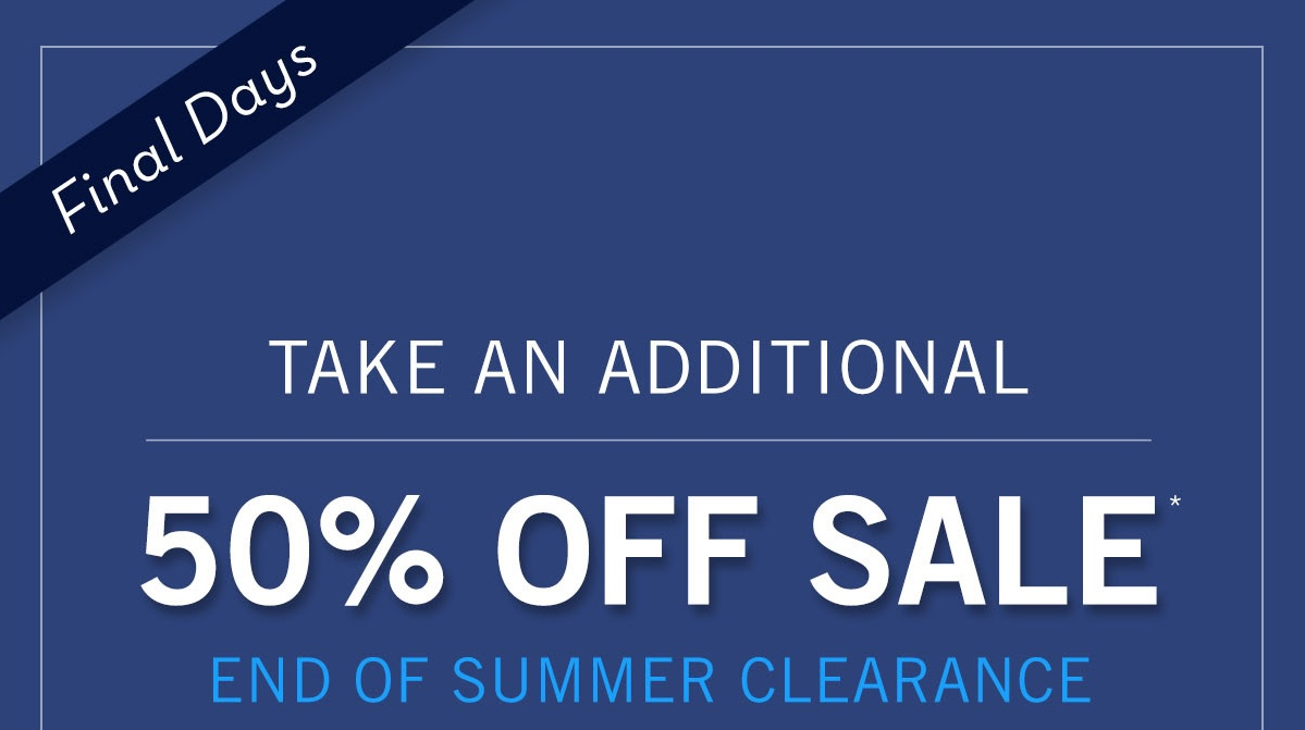 Coupon for: Perry Ellis, end of Summer Clearance