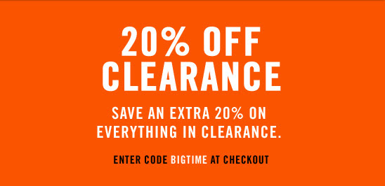 Coupon for: Nike, Clearance 20% off ...