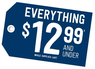 Coupon for: Crazy 8, everything under ...