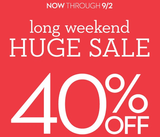 Coupon for: Chico's Outlets, Labor Day SALE