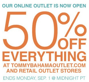 Coupon for: Tommy Bahama Outlet, Flash Sale