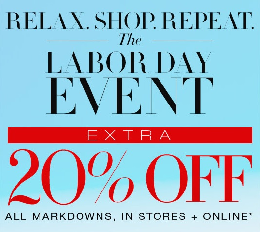 Coupon for: BCBGMAXAZRIA, The Labor Day Event