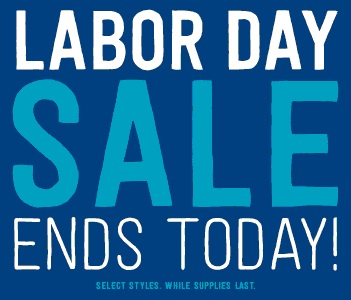 Coupon for: Crazy 8, Labor Day SALE