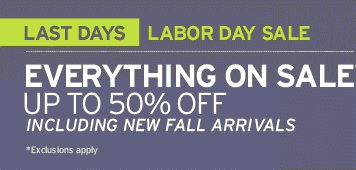 Coupon for: Eddie Bauer, Labor Day SALE