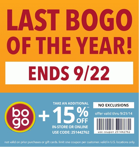 Coupon for: Payless ShoeSource, Last BOGO of ...