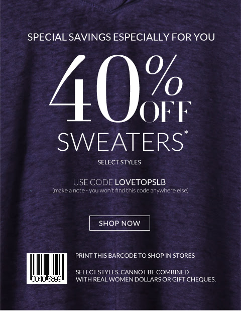 Coupon for: Lane Bryant, 40% off ...