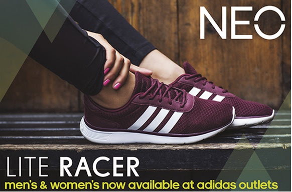 Coupon for: adidas outlet stores, NEO Lite Racer