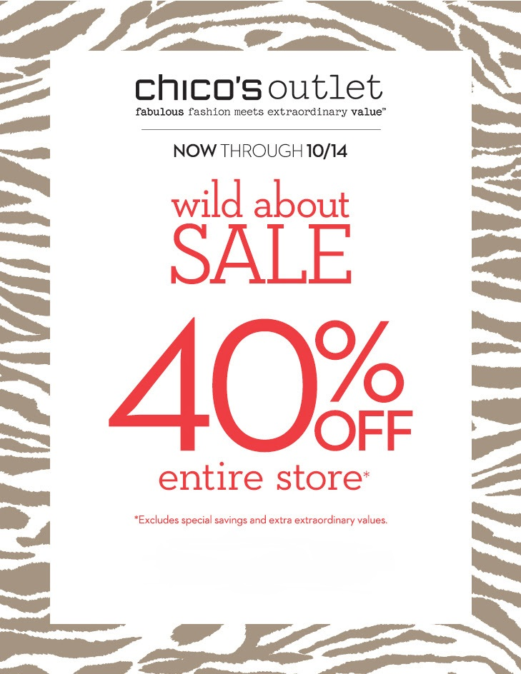 Coupon for: Chico's Outlets, Sale Event