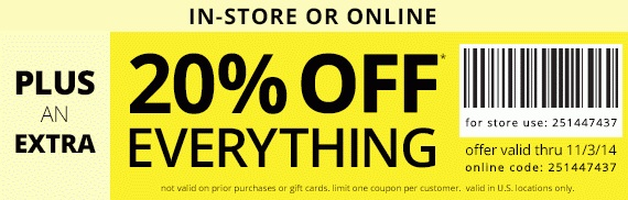 Coupon for: Payless ShoeSource, Semi-Annual SALE ...