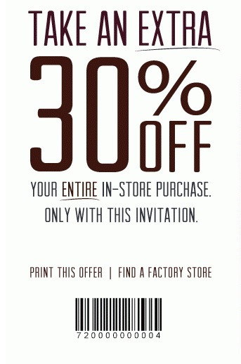 Coupon for: Haggar Factory Stores, Receive an extra discount ...