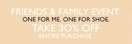 Coupon for: Nine West, Friends & Family event ...