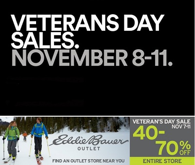 Coupon for: Veterans Day SALE, Premium Outlets ...