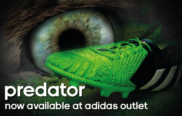 Coupon for: adidas outlet stores, predator collection