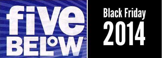 Coupon for: Five Below, Black Friday 2014 Ad ...