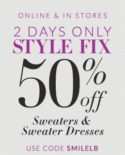 Coupon for: Lane Bryant, 50% Off Sweaters & ...