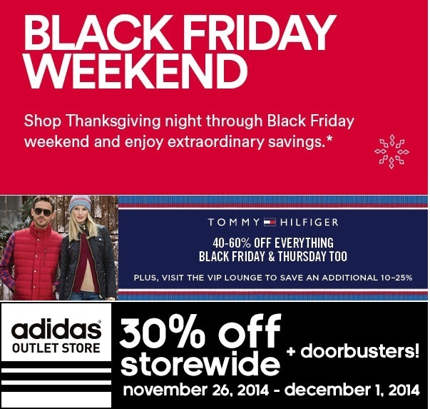 Coupon for: Premium Outlets, Black Friday 2014 ...