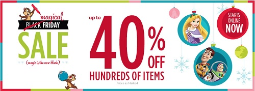 Coupon for: Disney Stores, Magical Friday Sale ...