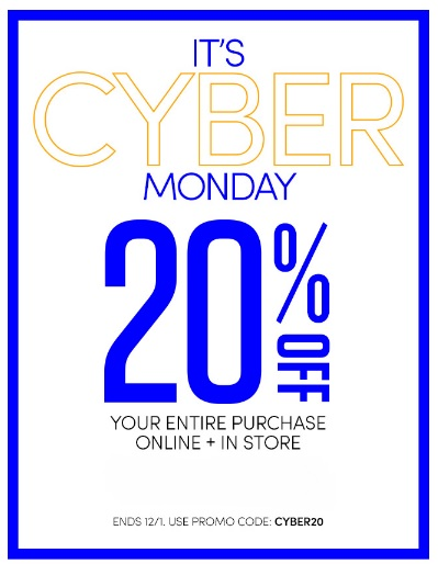 Coupon for: Athleta, It's Cyber Monday ...