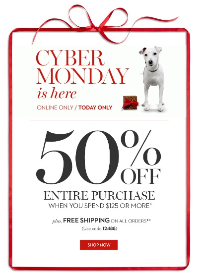 Coupon for: Chico's, Cyber Monday SALE ...