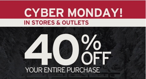 Coupon for: Eddie Bauer, Cyber Monday Savings ...