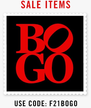 Coupon for: Forever 21, BOGO offer ...