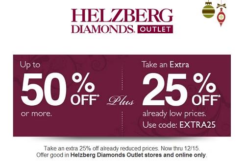 Coupon for: Helzberg Diamonds Outlet, Save big ...