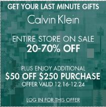 Coupon for: Calvin Klein & Premium Outlets ...
