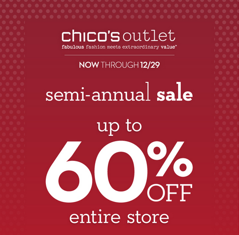 Coupon for: Chico's Outlets, The Semi-Annual Sale ...