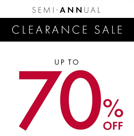 Coupon for: Ann Taylor Factory Stores, Semi - Annual SALE ...