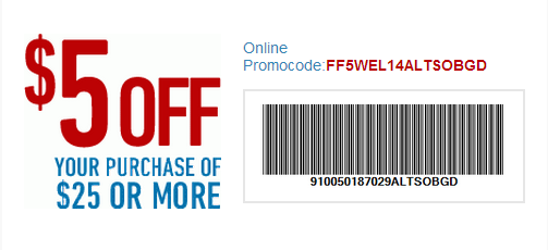 Coupon for: Famous Footwear, Receive discount on your purchase