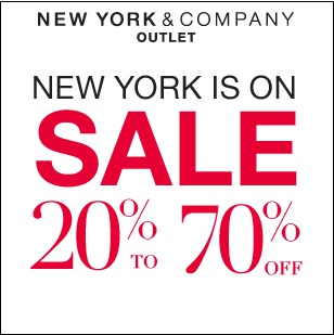 Coupon for: Premium Outlets, New York & Company Outlet, up to 70% off