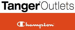 Coupon for: Tanger Outlets, Champion Stores, Up to 40% off