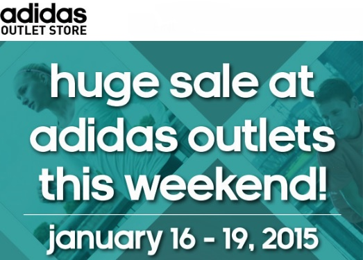 Coupon for: adidas outlet stores, huge SALE