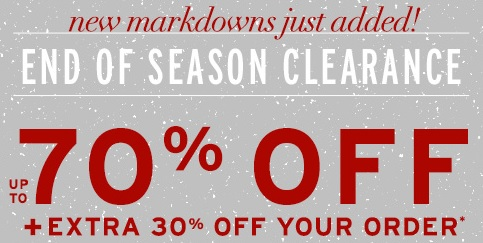 Coupon for: G.H. Bass & Co., End of Season Clearance