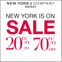 Coupon for: New York & Company Outlet Stores at Premium Outlets, New York is on Sale