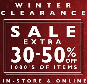 Coupon for: Tilly's, Winter Clearance