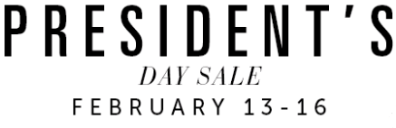 Coupon for: President's day sale, Tanger Outlets