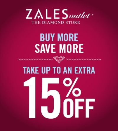 Coupon for: Zales Outlet stores, Buy more, save more