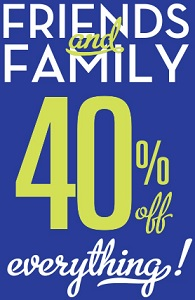 Coupon for: Christopher & Banks, Friends & Family Event