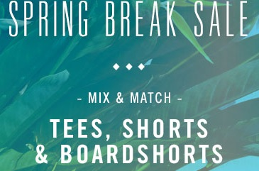 Coupon for: PacSun, Spring Break Sale