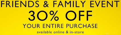 Coupon for: Nine West, Friends & Family Event + Early Spring Whites