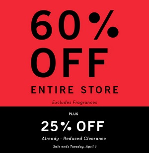 Coupon for: Perry Ellis Outlet Stores, Spring Sale