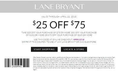 Coupon for: Lane Bryant, Amazing Sale offer